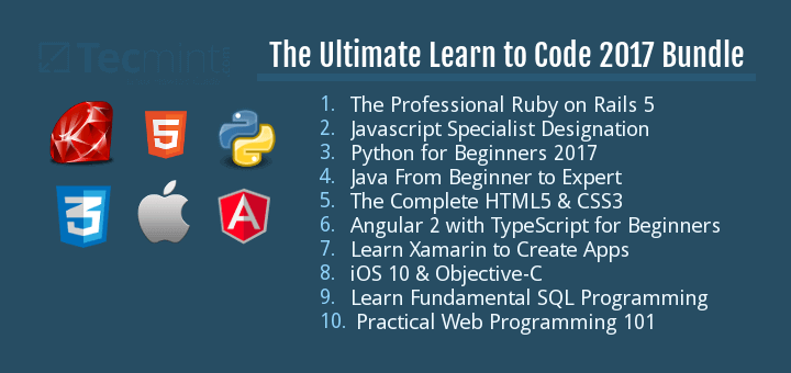 Deal: Learn Programming with This 10-Course Ultimate Code
