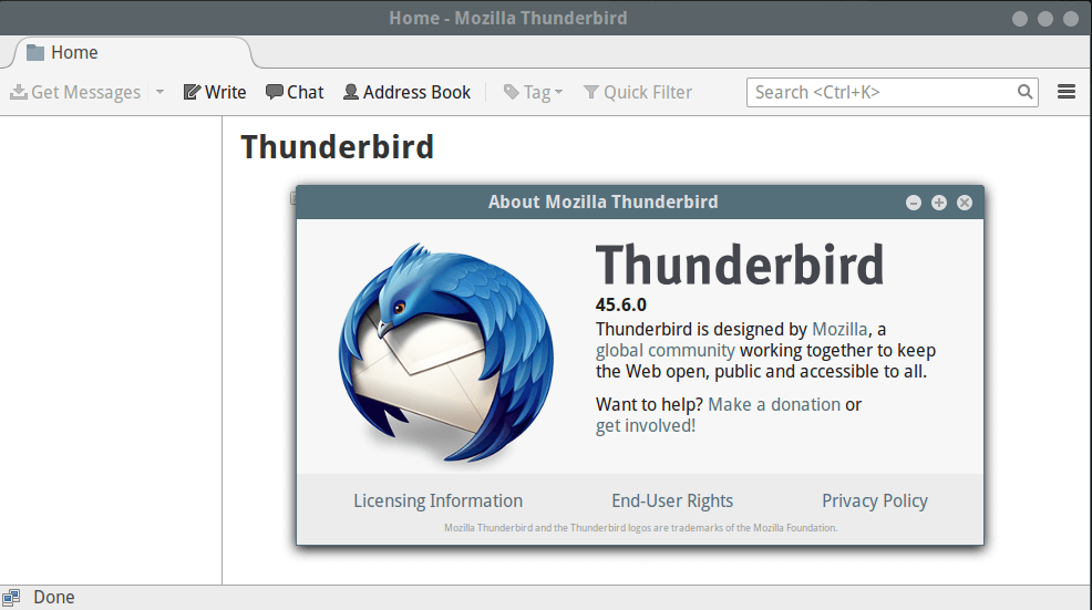 Install Latest 'Thunderbird' Email Client in Linux Systems -