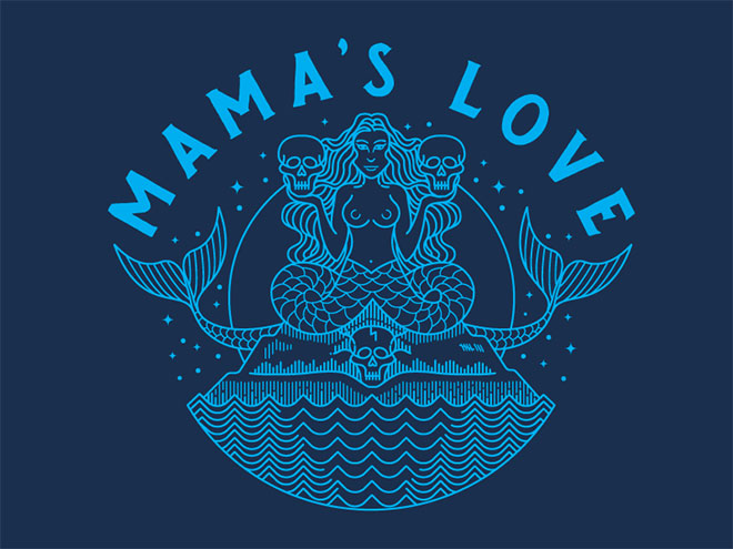 Mama's Love Sirens by Brian Steely