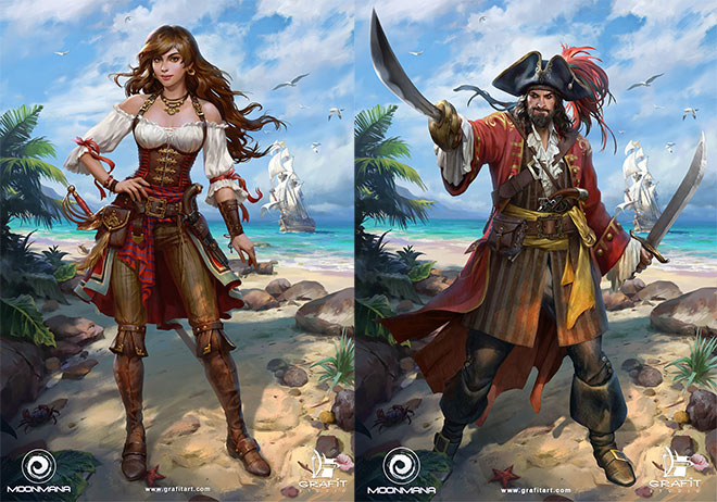 Ultimate Pirates by Grafit Studio
