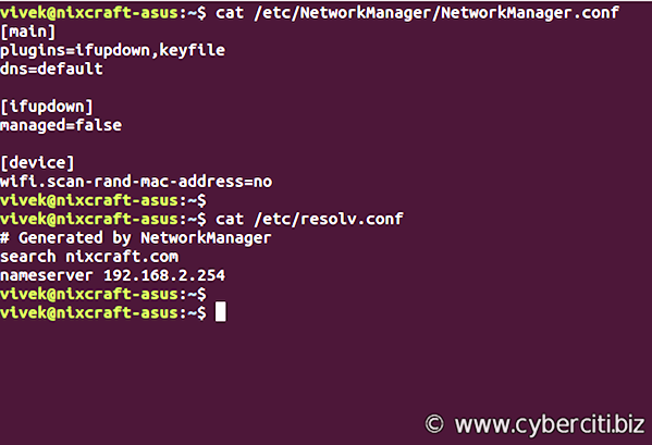 Linux Make Sure /etc/resolv.conf Never Get Updated By DHCP Client