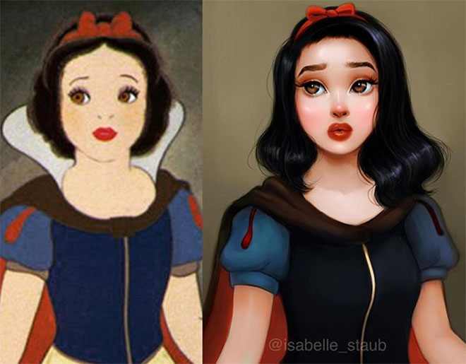 Snow White by Isabelle Staub