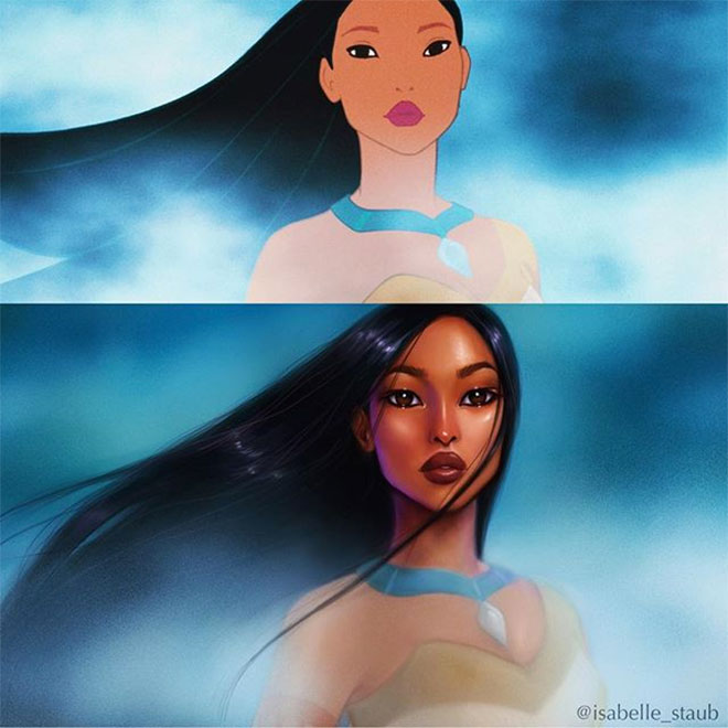 Pocahontas by Isabelle Staub