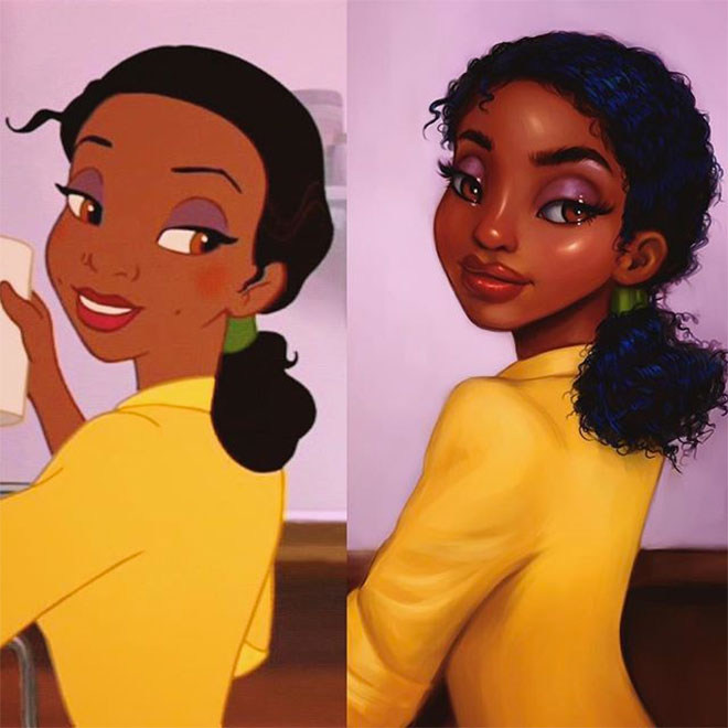 Tiana by Isabelle Staub