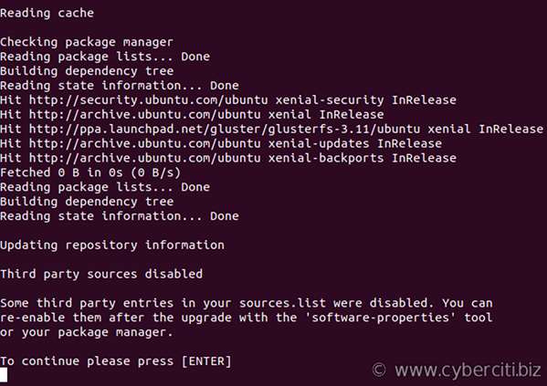 How to update LXD container Ubuntu Linux image