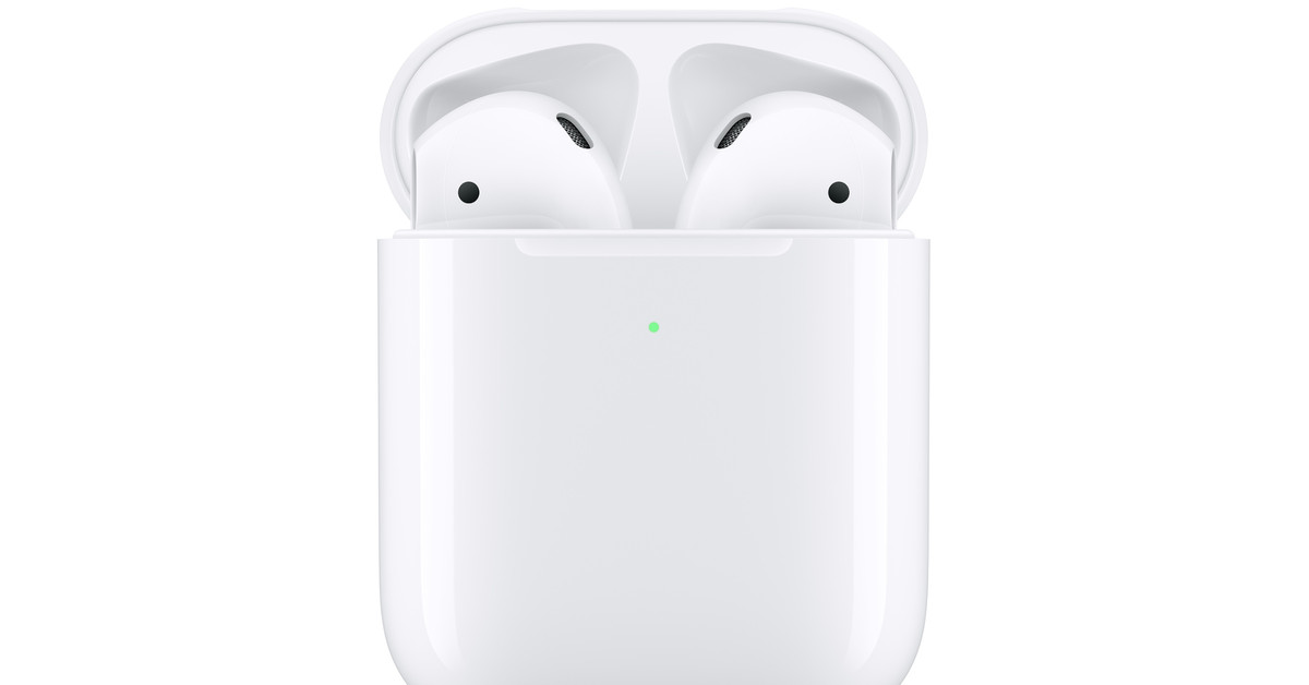 timeless design 02d0a 705e8 Apple's new AirPods come with a wireless charging case, Hey Siri ...