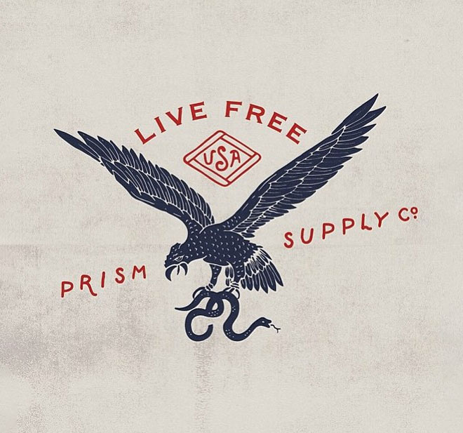 Live Free by Prism Supply Co.