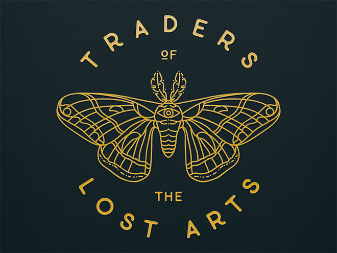 Traders of the Lost Arts by Ashley Cunningham