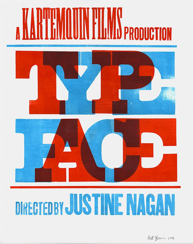 Type Face by Hatch Show Print