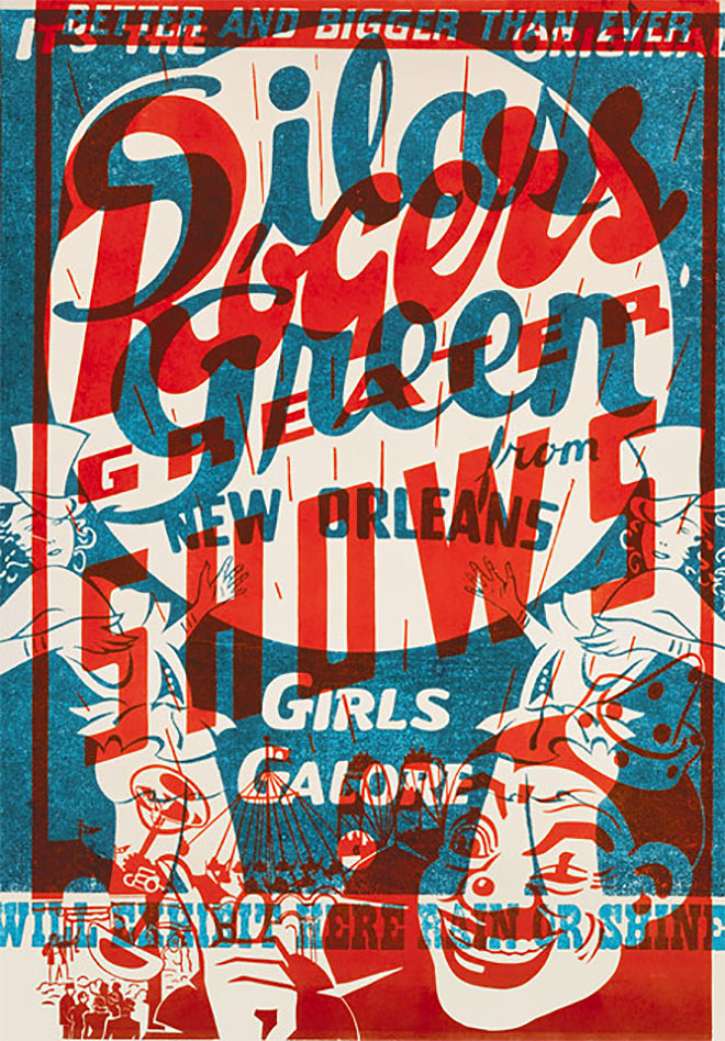 Rogers Greater Shows by Hatch Show Prints