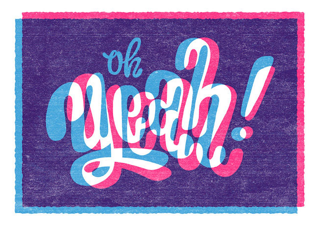 Oh YEAH! by Esther Aarts