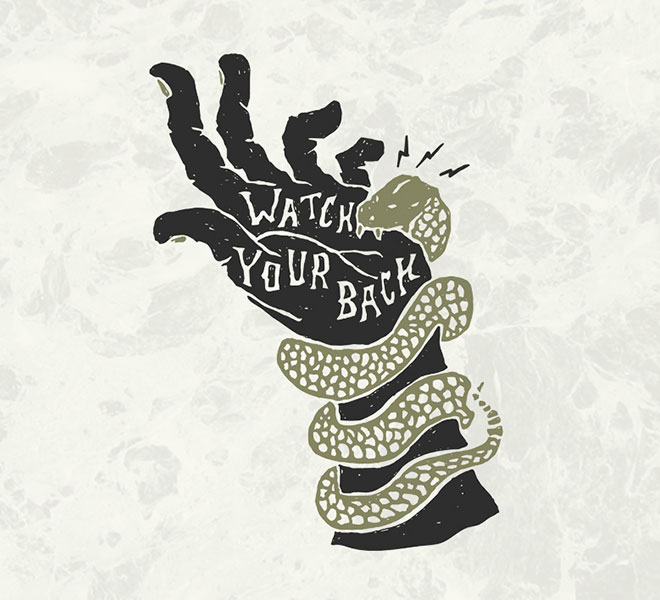 Watch Your Back by Jesse Bowser