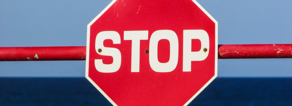 machine learning allows systems to understand images of stop signs like this