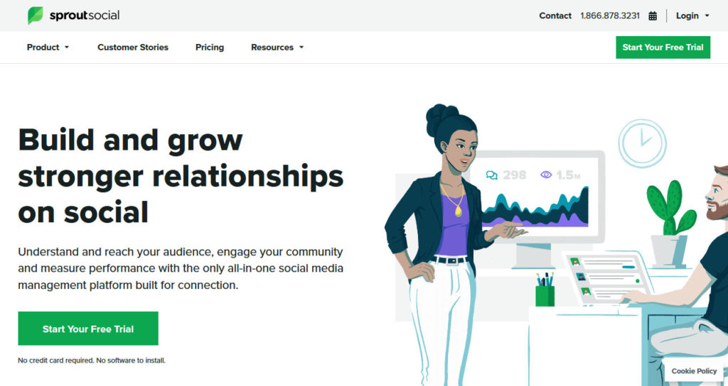 sprout social scheduling tool