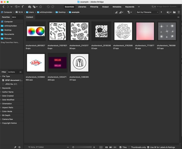 Use the Filter Panel to Find Files Faster