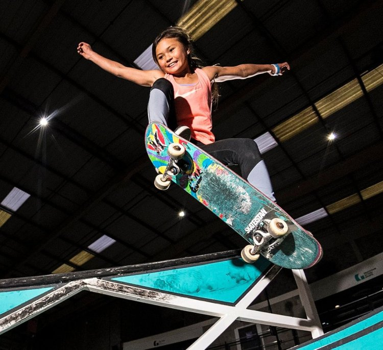 Sky Brown at Graystone Action Sports