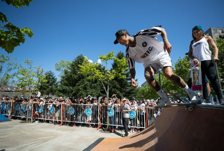 Nyjah Huston at the Youth Olympic Games, Buenos Aires, Argentina