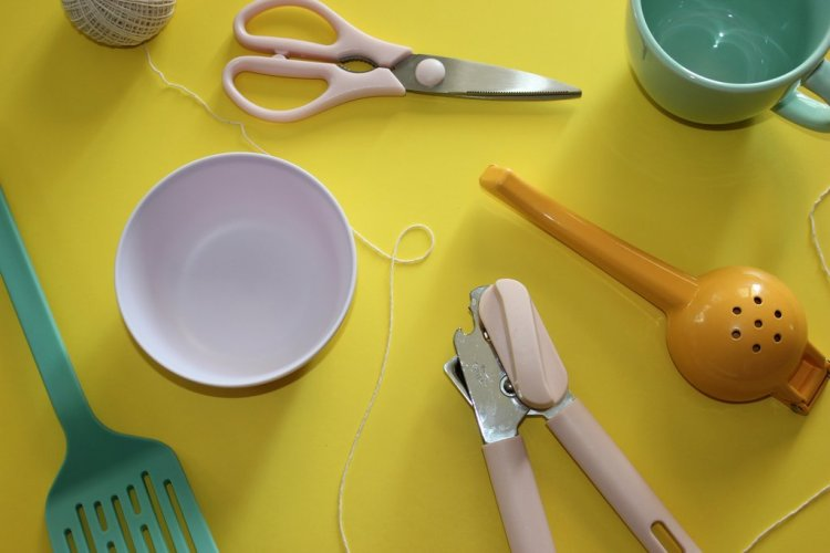 Pastel Cooking Items