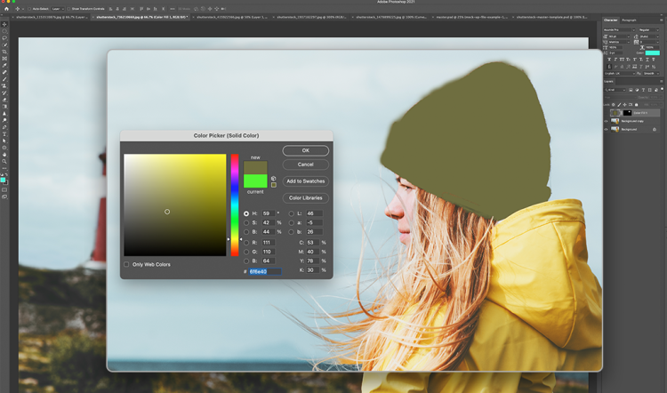 Solid Color Layer