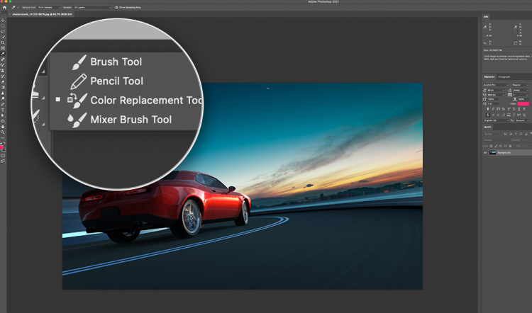 Color Replacement Tool